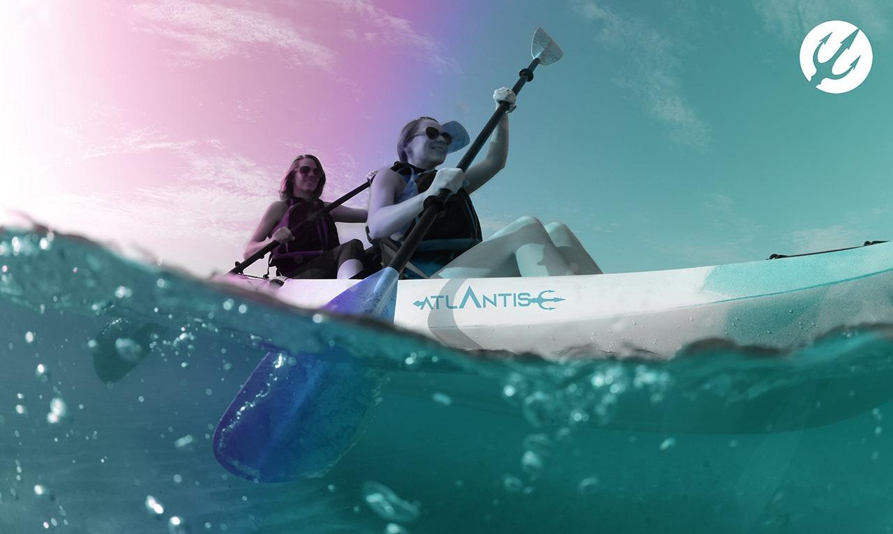 Atlantis-canoa-doppia